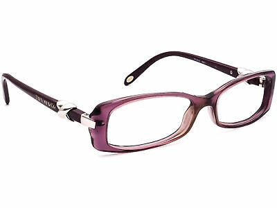 Tiffany & Co. Eyeglasses TF 2016 8061 Purple Rectangular Frame Italy 51[]15 135