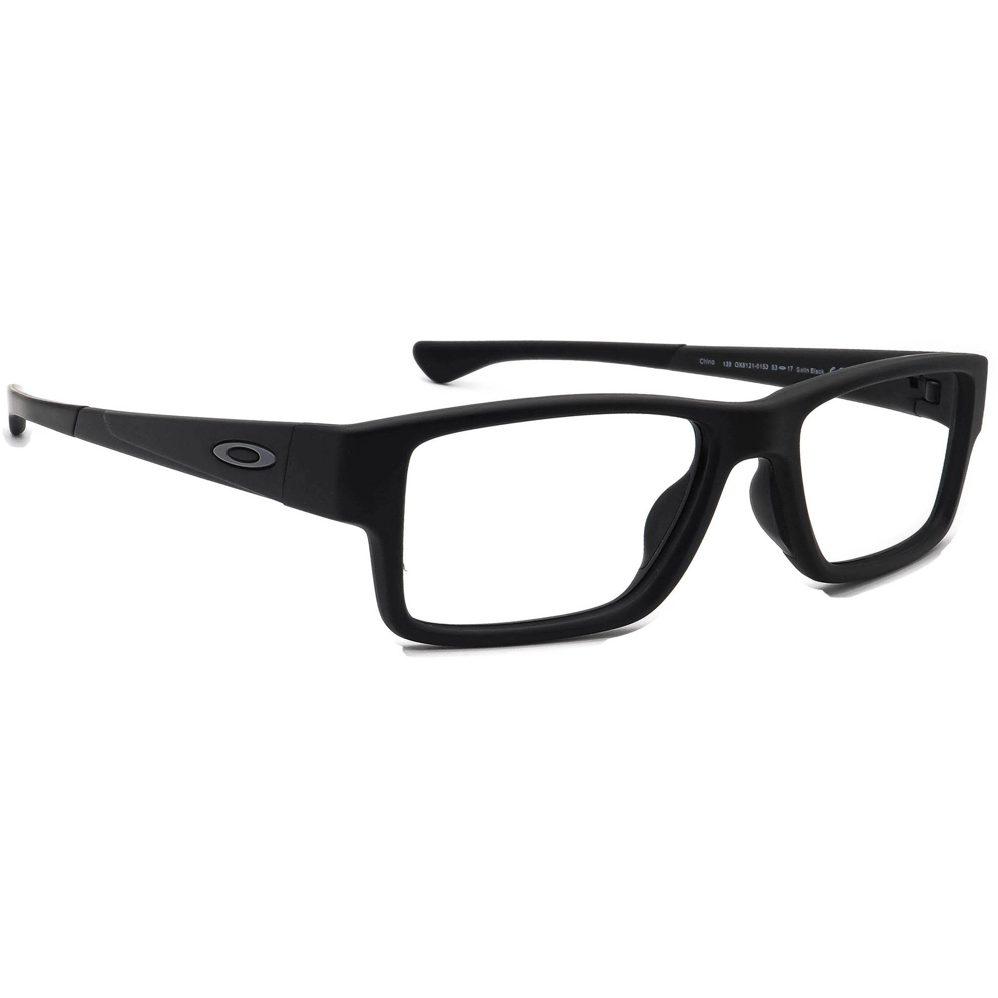 Oakley OX8121-0153 Airdrop MNP Satin Black  Eyeglasses