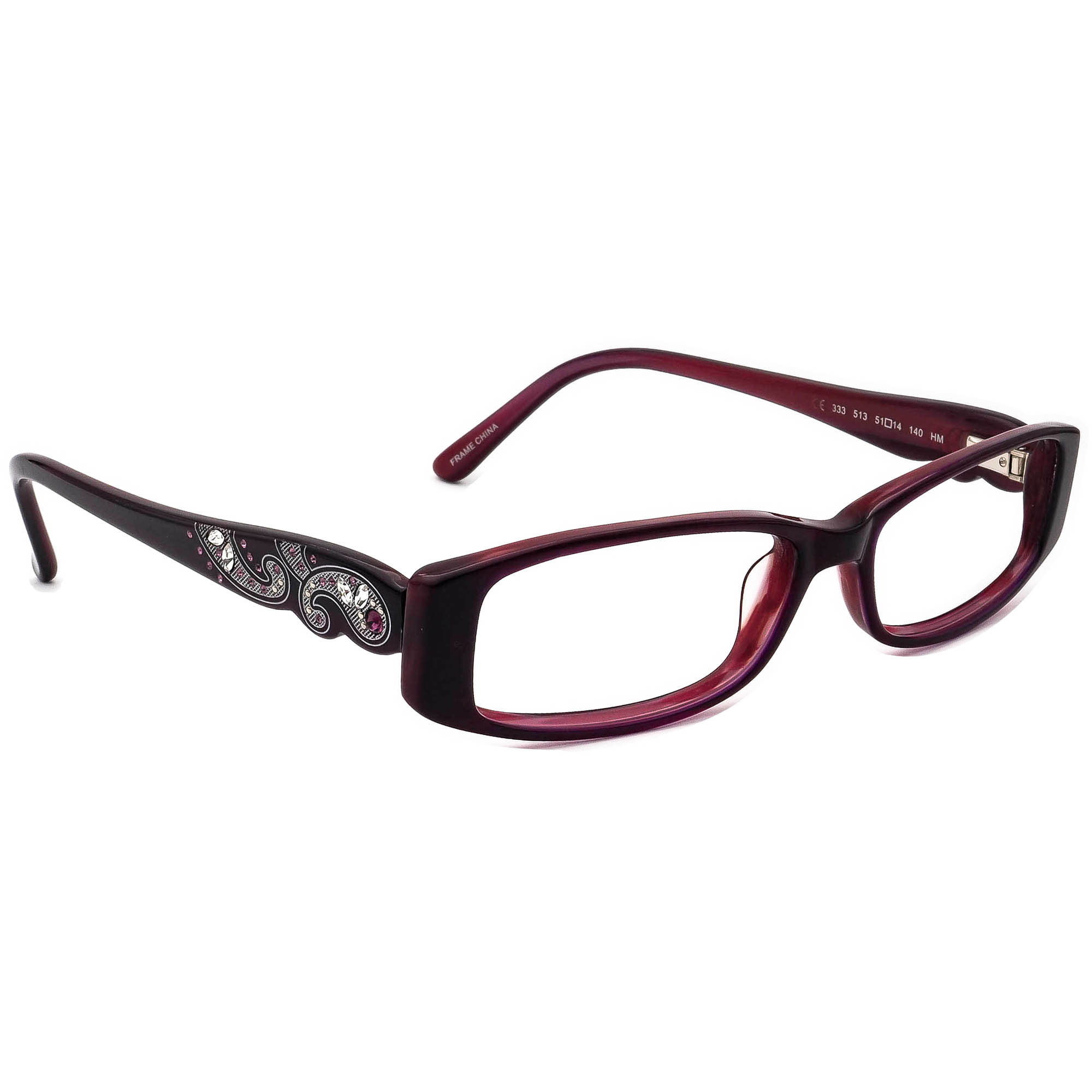 Allure Eyewear 333 513 Made With Swarovski Elements Eyeglasses