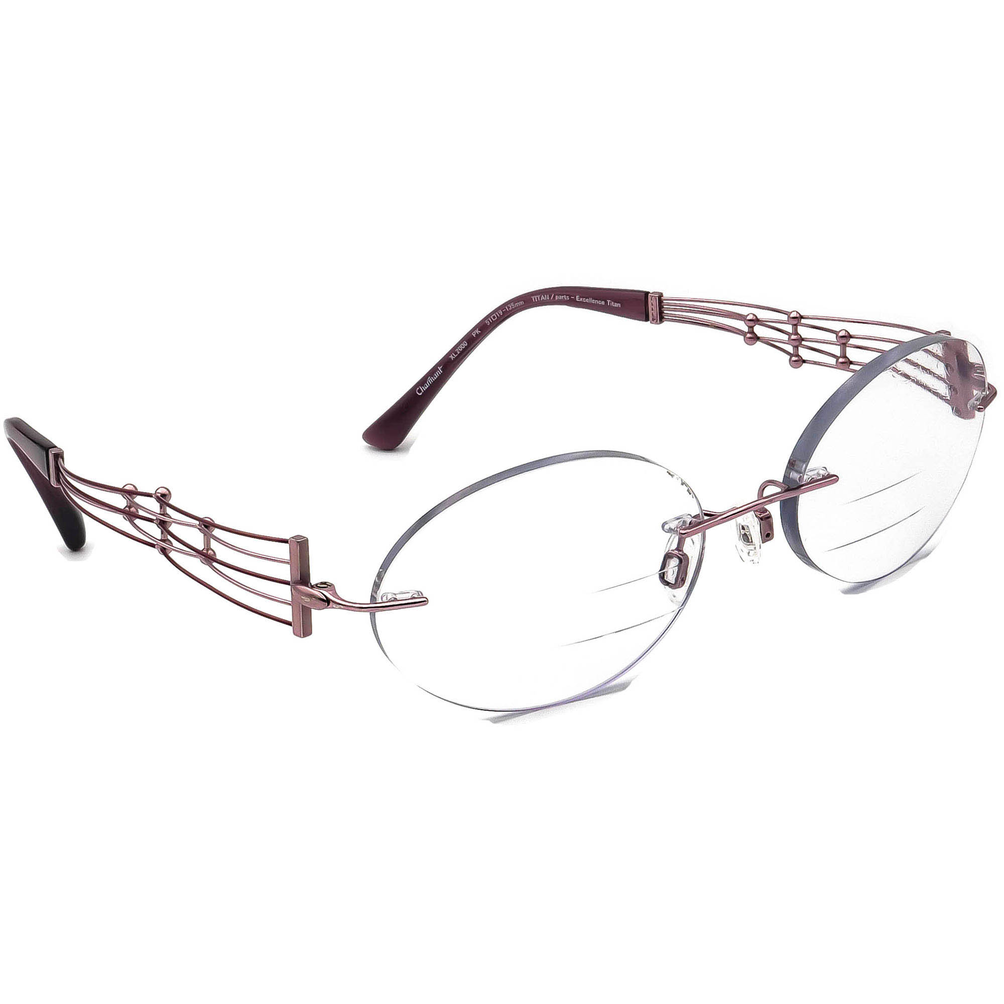Charmant XL 2000 PK Titan Eyeglasses