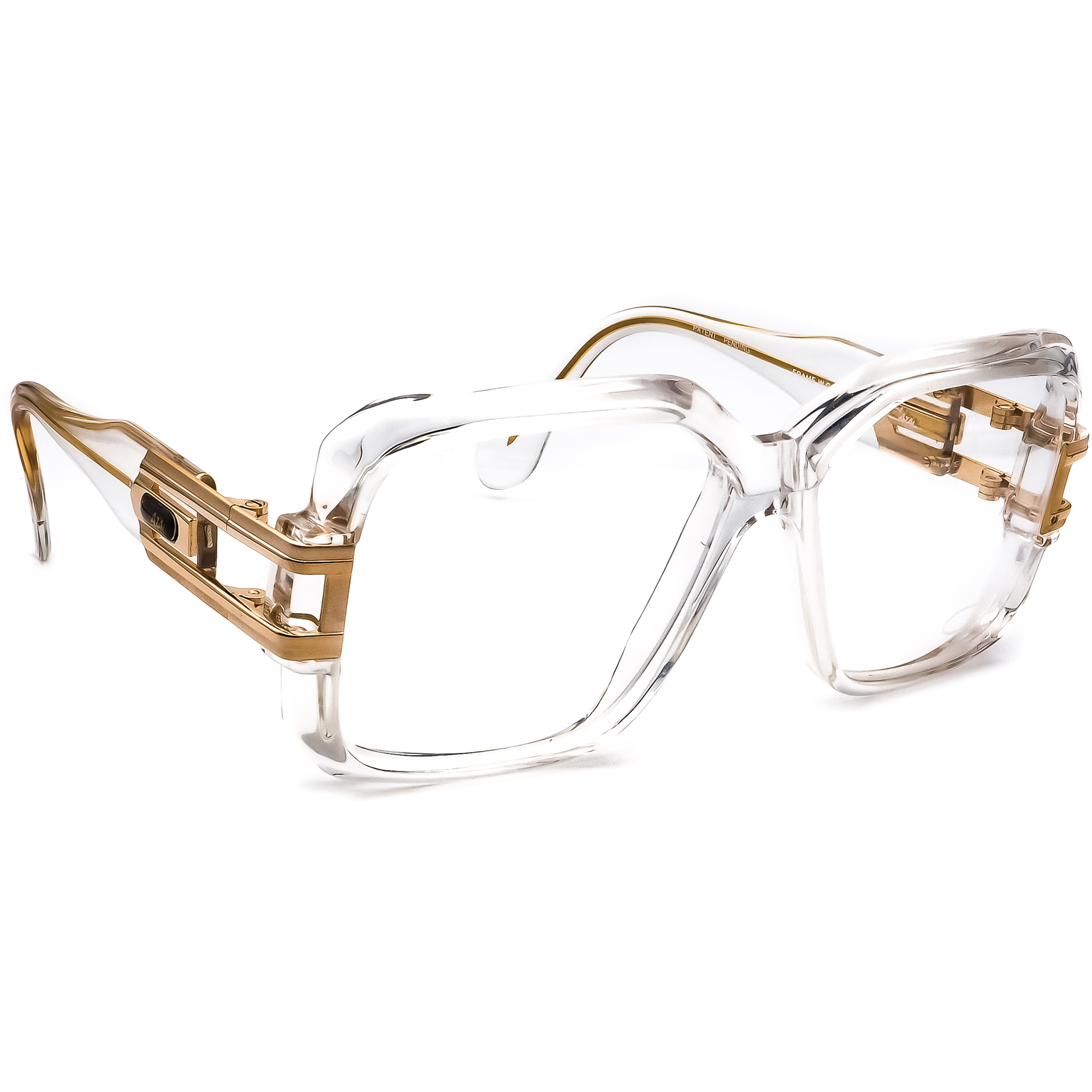 Cazal Eyeglasses MOD 623 COL 65/97 Clear/Gold Frame Germany 59[]16 140 Handmade