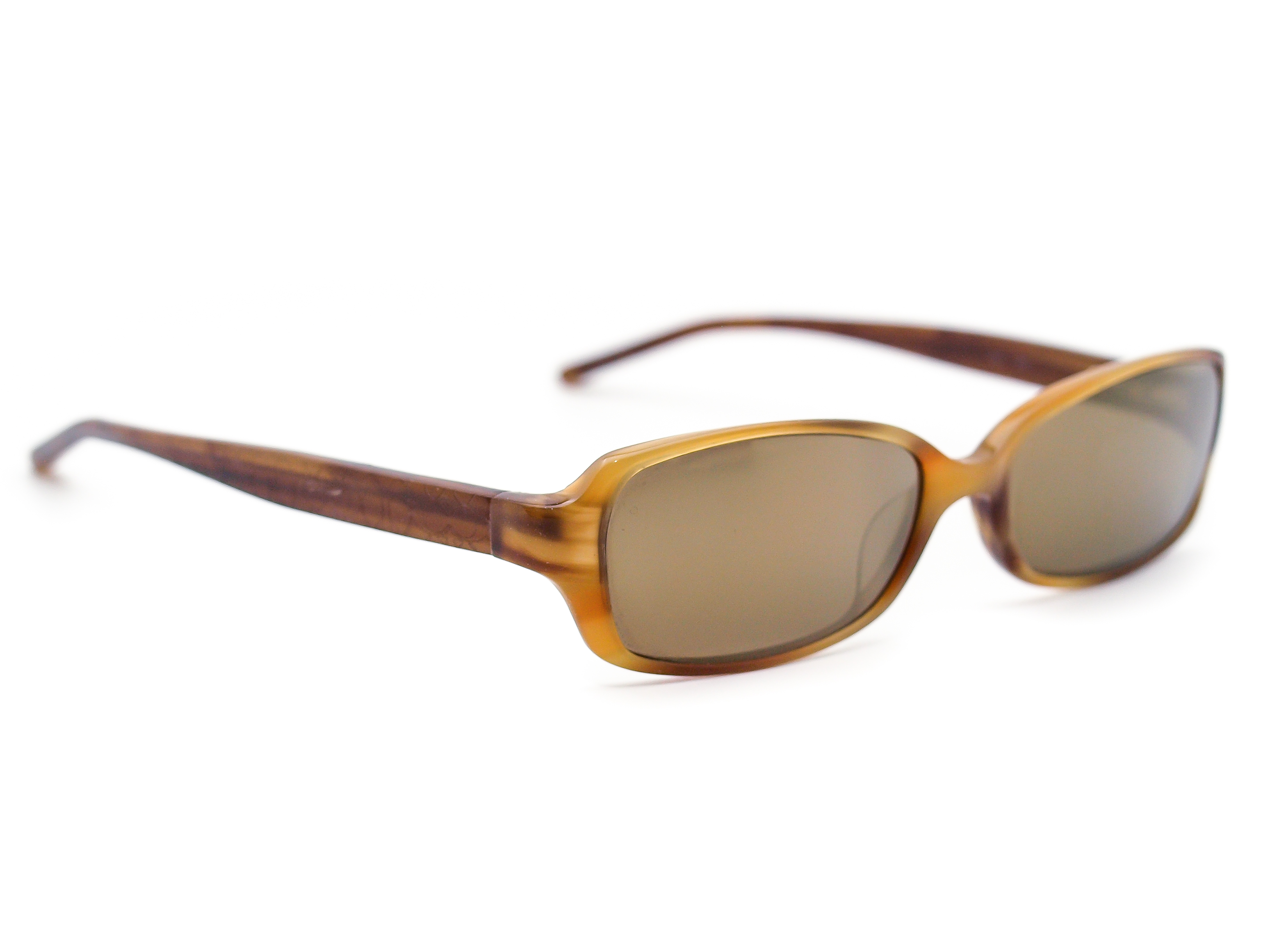 Coach Abbi 544 Blonde Mirrored Sunglasses