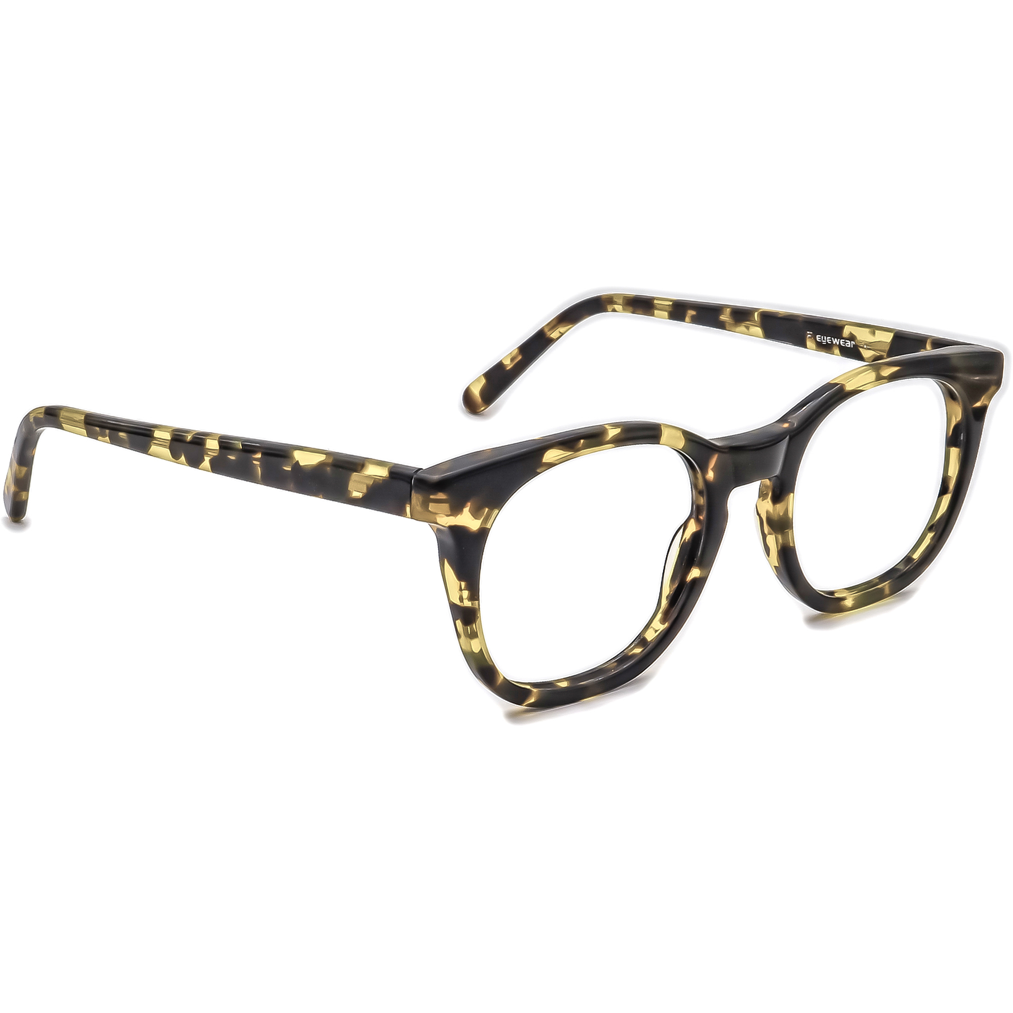 Kala Eyewear Eyeglasses Buddy Handmade in the USA Tortoise Square 48[]16 140