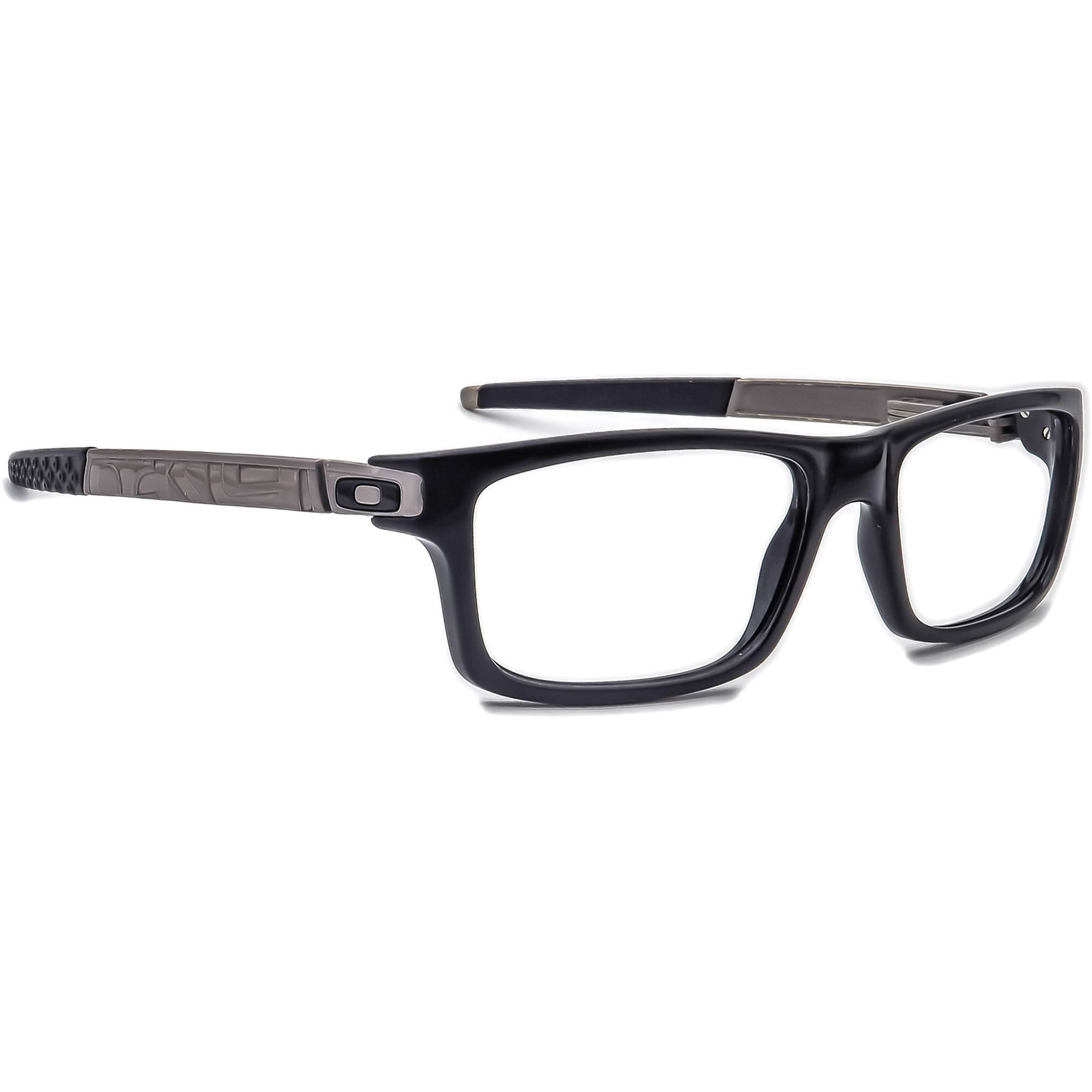 Oakley Eyeglasses OX8026-0554 Currency Polished Black Rectangular 54[]17 133